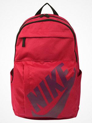 Nike Sportswear ELEMENTAL BACKPACK Ryggsäck noble red/black/bordeaux röd med tryck