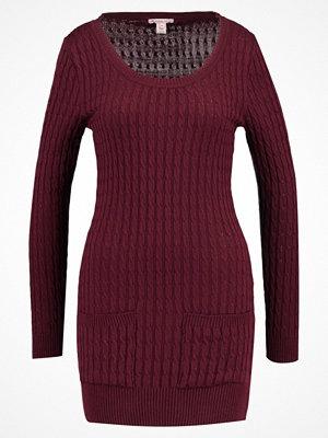 Anna Field Stickad tröja burgundy