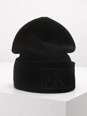 Mössor - Calvin Klein REISSUE BEANIE Mössa black