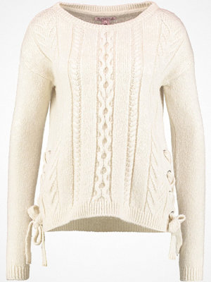 Anna Field Stickad tröja white