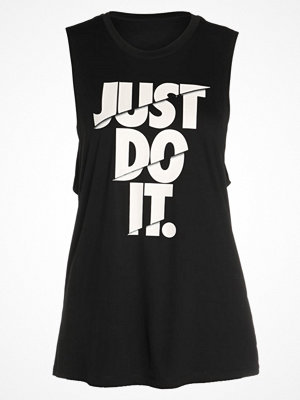 Nike Performance DRY TANK MUSCLE Funktionströja black/white