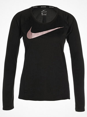 Nike Performance MILER Funktionströja black/metallic rose gold