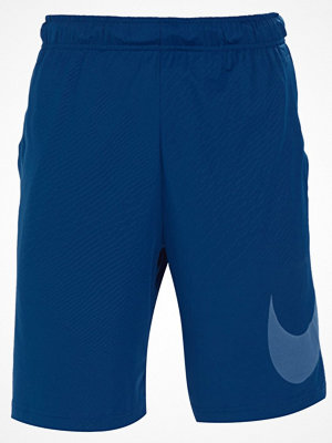 Nike Performance DRY EMBOSSED  Träningsshorts gym blue/white