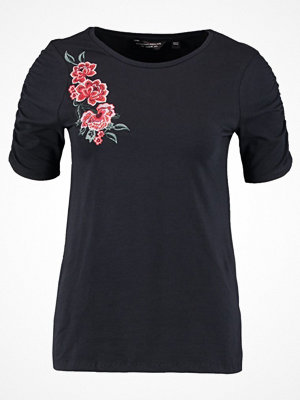Dorothy Perkins EMBROIDERED SLEEVE Blus navy