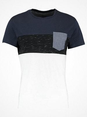 Pier One Tshirt med tryck navy