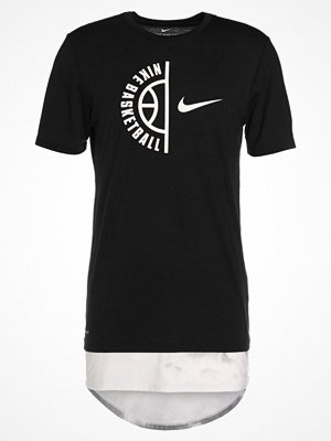 Nike Performance CLOUDS Tshirt med tryck black/white