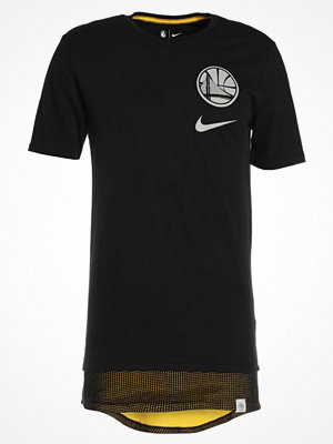 Nike Performance GOLDEN STATE WARRIORS Tshirt med tryck black/amarillo