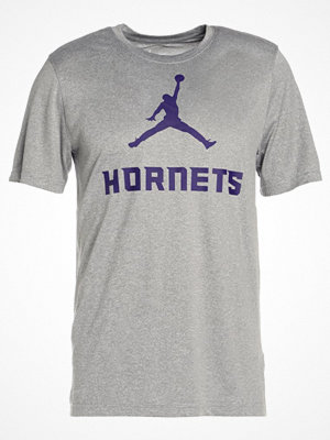 Nike Performance CHARLOTTE HORNETS Tshirt med tryck dark grey heather