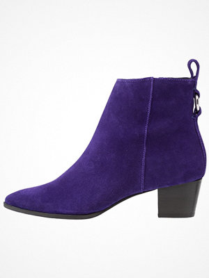 Topshop MATCHA POINTED BOOTS Stövletter purple