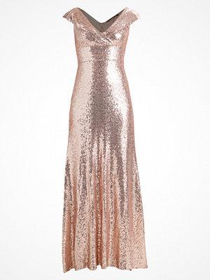 TFNC ASMI MAXI Festklänning rose gold