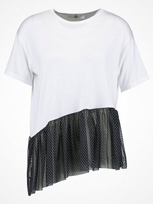 Missguided Tall Tshirt med tryck white
