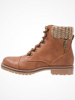 Boots & kängor - New Look EARLY Snörstövletter tan