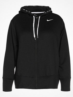 Street & luvtröjor - Nike Performance Sweatshirt black/black/white