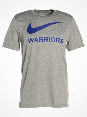 Nike Performance GOLDEN STATE WARRIORS Tshirt med tryck dark grey heather
