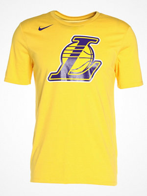 Nike Performance LOS ANGELES LAKERS Tshirt med tryck amarillo