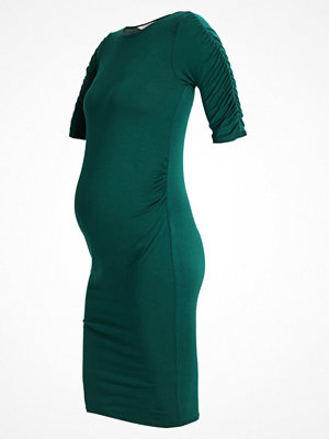 DP Maternity BODYCON GATHERED SLEEVE Fodralklänning bottle green