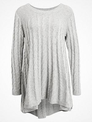 Part Two IVIAJA  Stickad tröja light grey melange