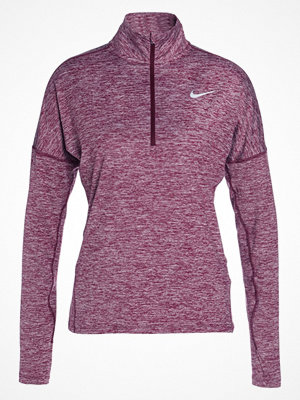 Nike Performance DRY ELEMENT Funktionströja bordeaux/heather/reflective silver