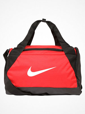 Nike Performance BRASILIA DUFFEL XSMALL Sportväska university red/black/white