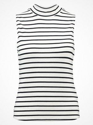 Abercrombie & Fitch Linne white stripe