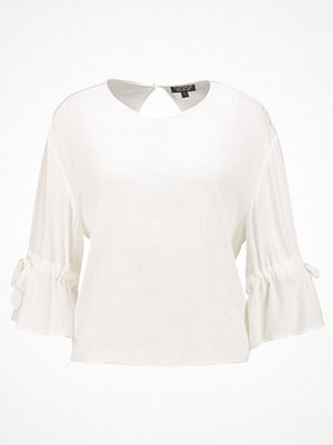 Topshop TIE MOLLY     Blus ivory