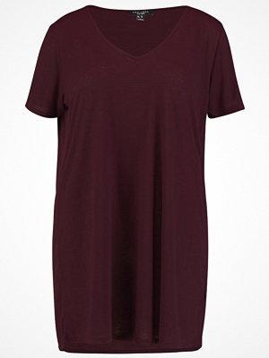 New Look Curves BOYFRIEND  Tshirt bas burgundy