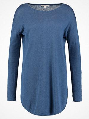 Tom Tailor Denim EASY LONG BASIC  Stickad tröja denim like blue