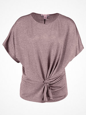 Anna Field Tshirt med tryck rose/copper