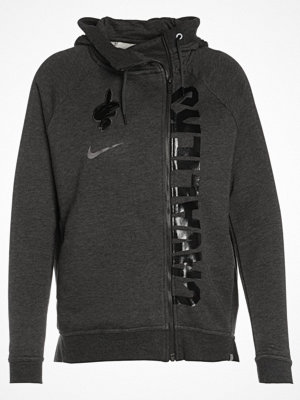 Street & luvtröjor - Nike Performance CLEVELAND CAVALIERS  Sweatshirt black heather/anthracite
