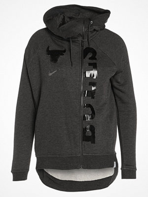 Street & luvtröjor - Nike Performance NBA CHICAGO BULLS Sweatshirt black heather/anthracite