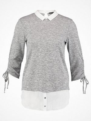 Dorothy Perkins DRAWSTRING Stickad tröja grey