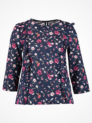 Dorothy Perkins FRILL FRONT  Blus navy