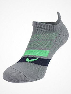 Nike Performance PERFORMANCE CUSHIONED NOSHOW RUNNING Ankelsockor cool grey/obsidian/(lt green spark)