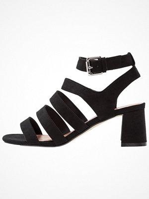 Topshop DEENA MULTI STRAP  Sandaler & sandaletter black