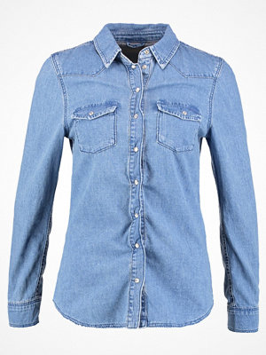 Topshop FIT WEST   Skjorta blue