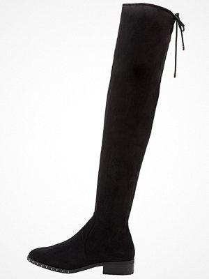 Topshop DOLLAR HIGH LEG Overkneeskor black