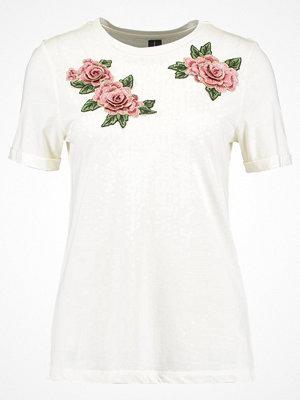 Vero Moda VMMARA  Tshirt med tryck offwhite