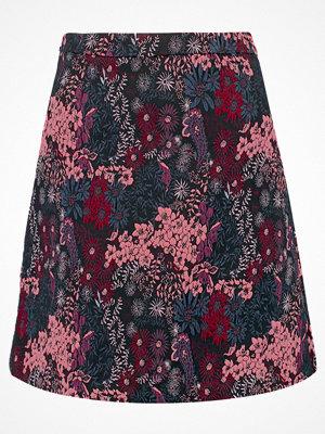 Dorothy Perkins JACQUARD  Minikjol black/pink