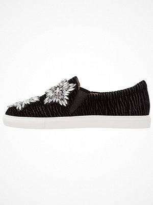 Topshop TIA EMBEL SLIP ON  Slipins black
