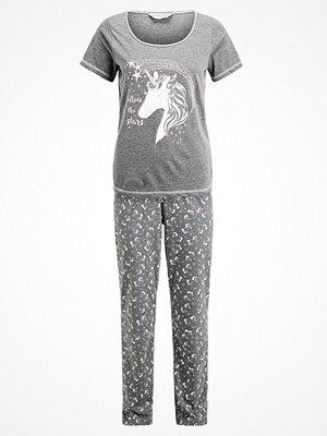 Pyjamas & myskläder - Dorothy Perkins UNICORN SET Pyjamas charcoal