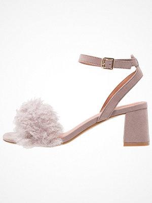 Topshop DOODLE MID Sandaler & sandaletter grey