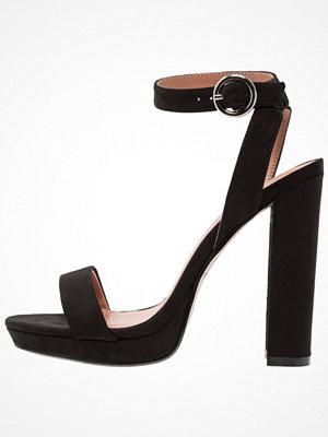 Topshop MARIETTA SLIM PLAT Sandaletter black