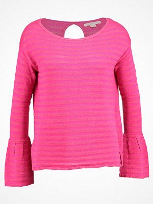 Springfield MANGAS  Stickad tröja pink
