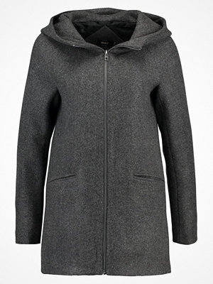 Only ONLDOGVILLE CAMILLE COAT  Kort kappa / rock dark grey melange