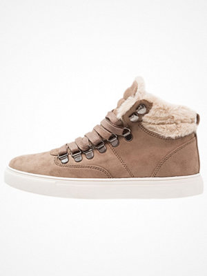 Anna Field Höga sneakers beige