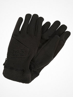 Handskar & vantar - Jack Wolfskin CASTLE ROCK GLOVE Fingervantar black