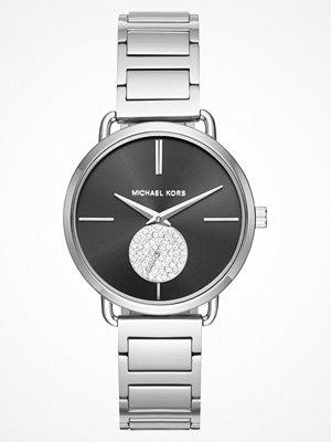Klockor - Michael Kors PORTIA Klocka silvercoloured