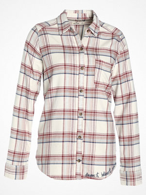 Hollister Co. Skjorta white pattern