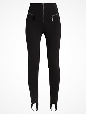 Topshop ZIP DETAIL SKI Leggings black