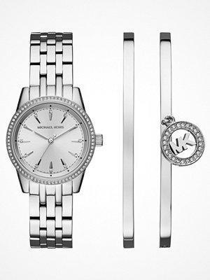 Klockor - Michael Kors RITZ SET Klocka silvercoloured